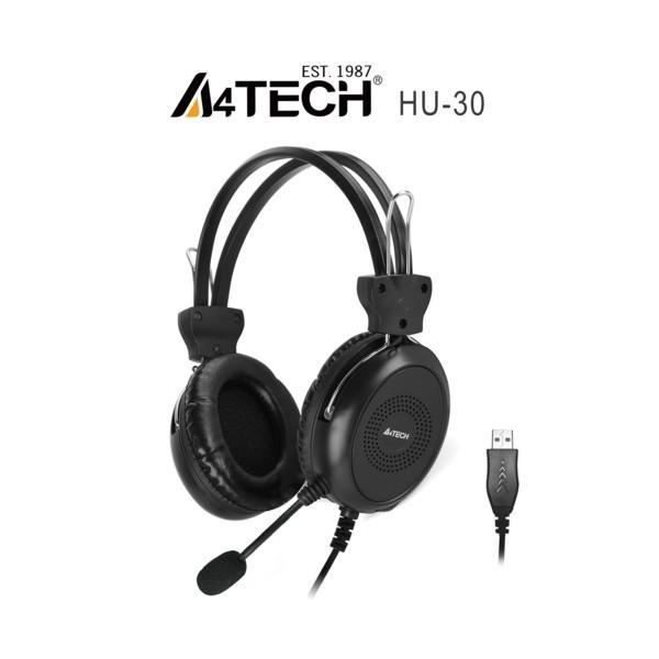 A4 Tech HU-30 Mikrofonlu Kulaklık USB