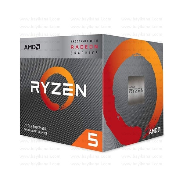 AMD Ryzen 5 2600 3.4/3.9GHz AM4 İŞLEMCİ