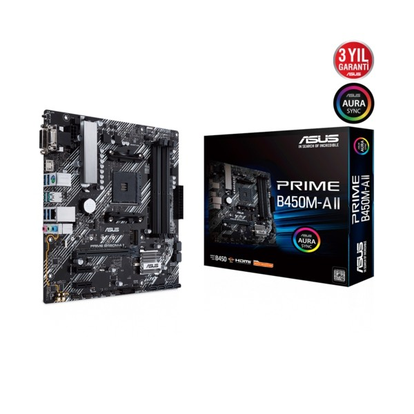Asus PRIME B450M-A II DDR4 S+V+GL AM4 (mATX)