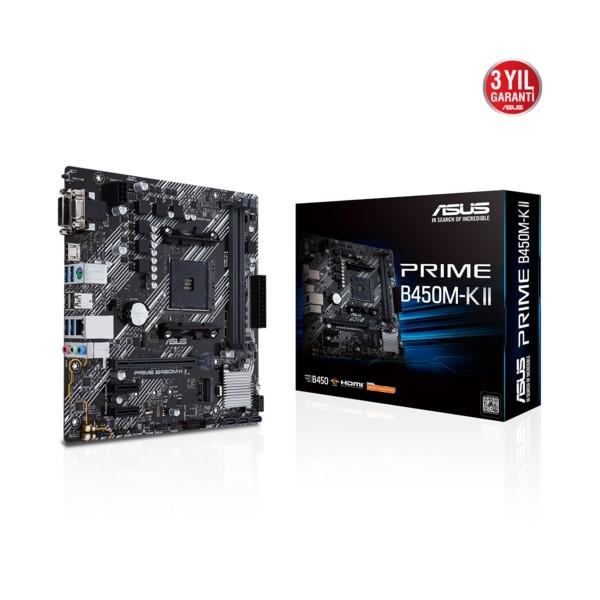 Asus PRIME B450M-K II DDR4 S+V+GL AM4 (mATX)