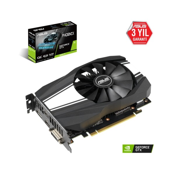 Asus PH-GTX1660TI-O6G GAMING 6GB 192Bit GDDR6