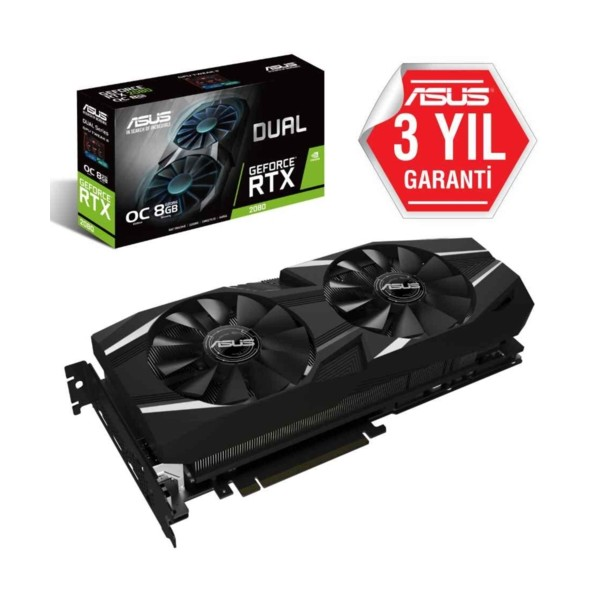 Asus DUAL-RTX2080-O8G GAMING 8GB 256Bit DDR6