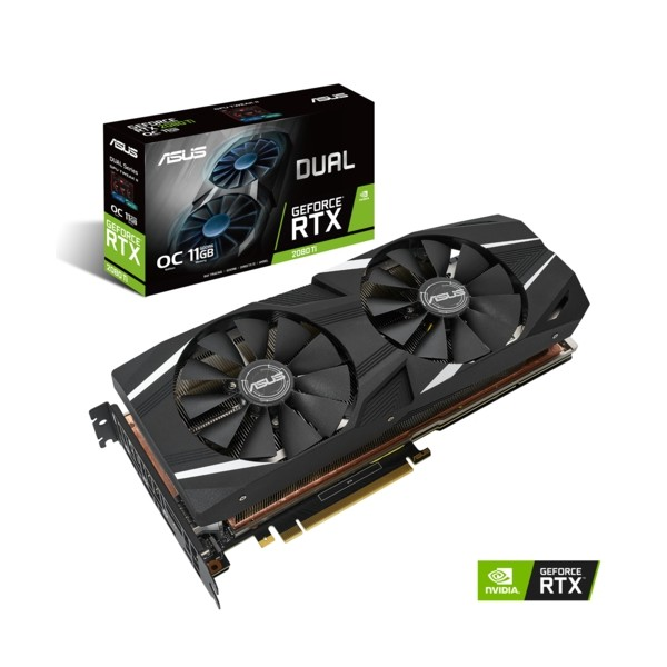 Asus DUAL-RTX2080TI-O11G GAMING 11GB DDR6