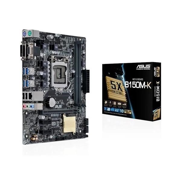 Asus B150M-K Intel B150 2133MHz DDR4 Soket 1151 Micro-ATX Anakart