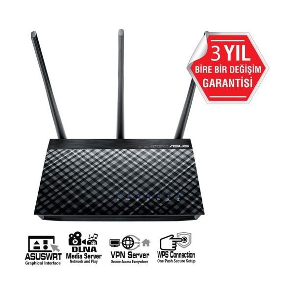 ASUS DSL-AC51 AC750 ADSL-VDSL-FİBER MODEM