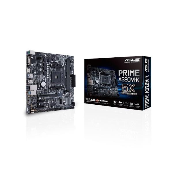 ASUS PRİME A320M-K CSM DDR4 S+V+GL AM4