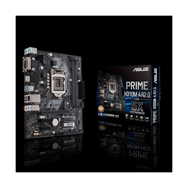 Asus Prime H310M-A R2.0/CSM Intel H310 2666MHz DDR4 1151 Pin mATX Anakart
