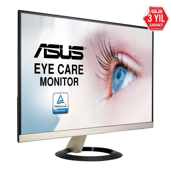 "Asus VZ249Q 23.8"" 5ms (Display+HDMI+D-SUB) FreeSync IPS Oyuncu Monitör"