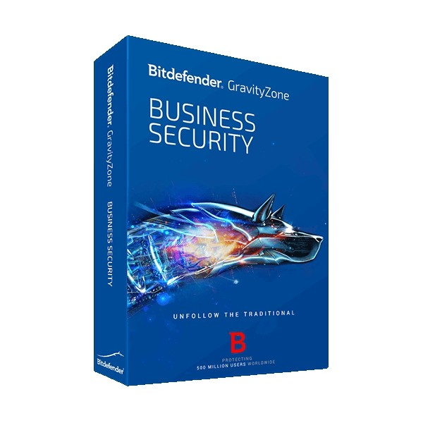 BitDefender GravityZone BusinessSecurity 1+5 1YIL