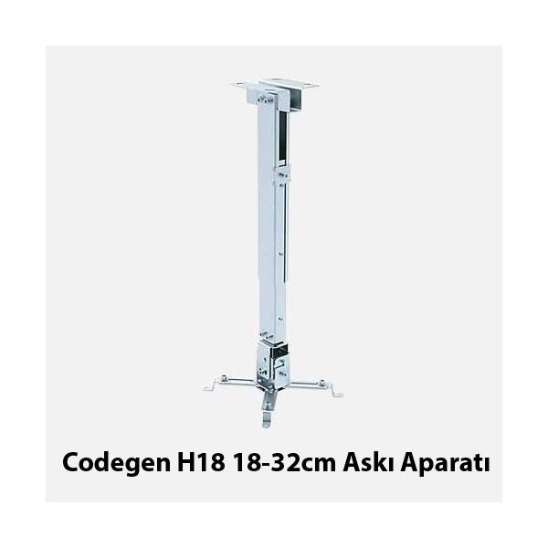 Codegen Teleskopik Tavan Askı Aparatı (H18)