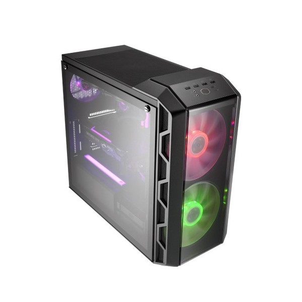 Cooler Master H500 750W 80+ RGB Mid Tower Kasa