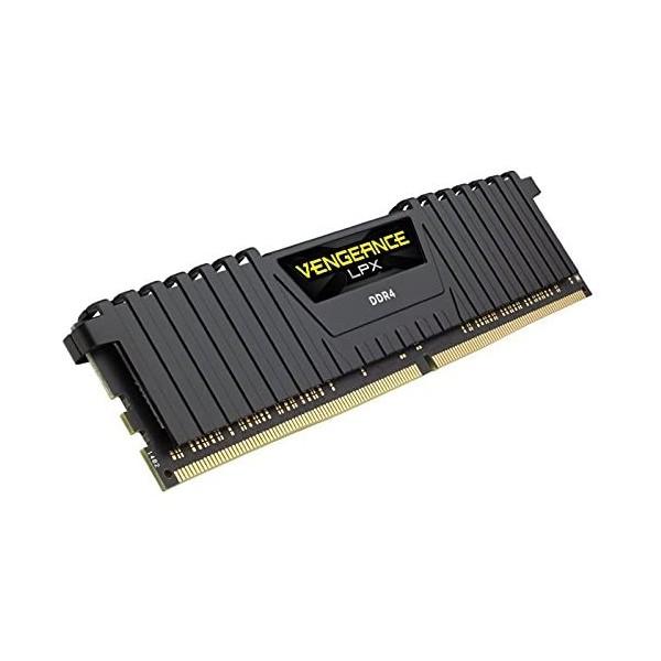 CORSAIR CMK16GX4M1D3000C16 16GB DDR4 3000MHz CL16 VENGEANCE BLACK LPX SOGUTUCULU DIMM BELLEK