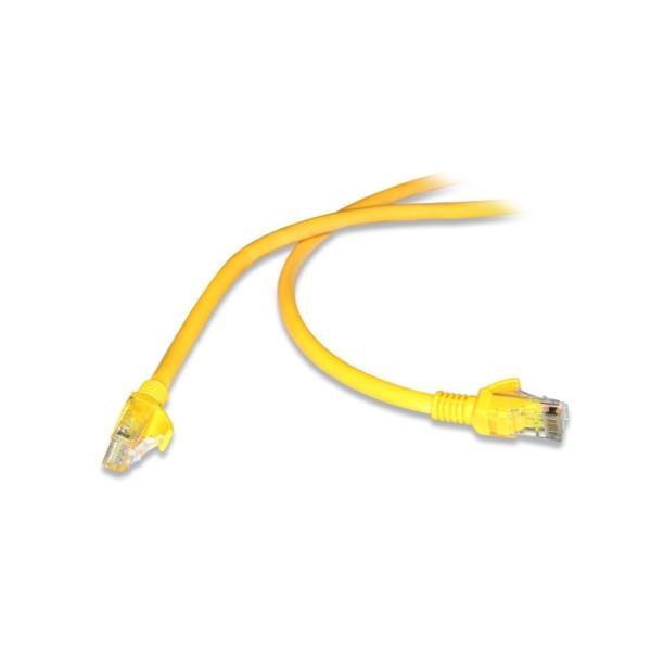 FLAXES FNK-6003S 30 CM CAT6 Patch Kablo Sarı