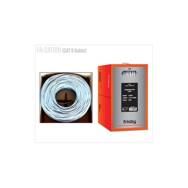 Frisby FR-CAT601 305Mt UTP 23AWG 58mm