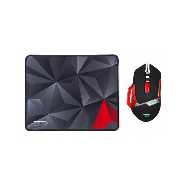 Hiper Naga X80 Gaming Mouse + Mouse Pad Set