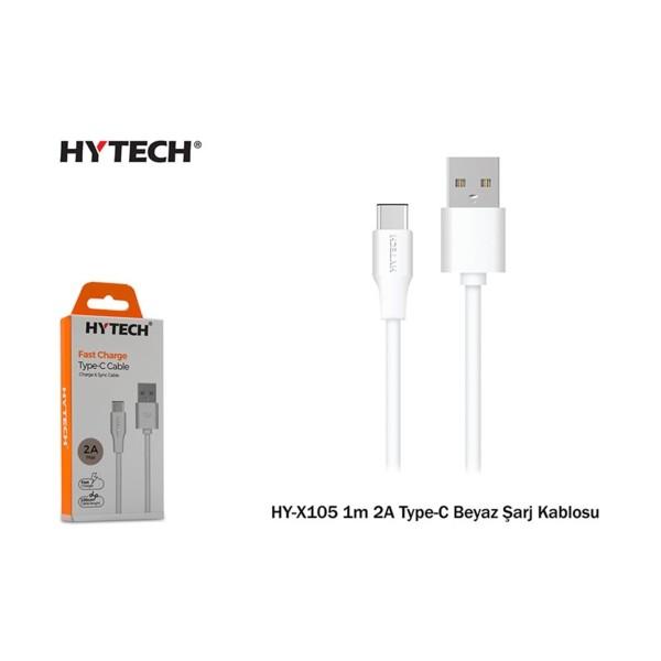 Hytech HY-X105 1m 2A Type-C Şarj Kablosu
