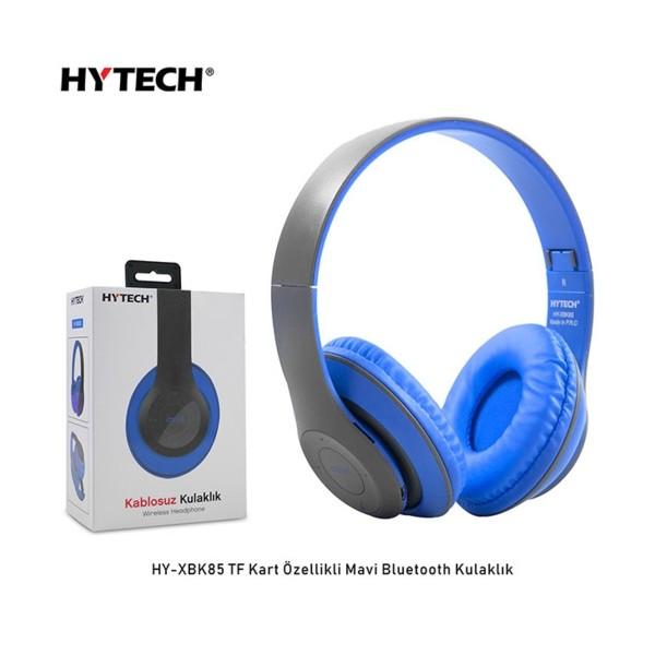 Hytech HY-XBK85  Mavi Bluetooth Kulaklık 1