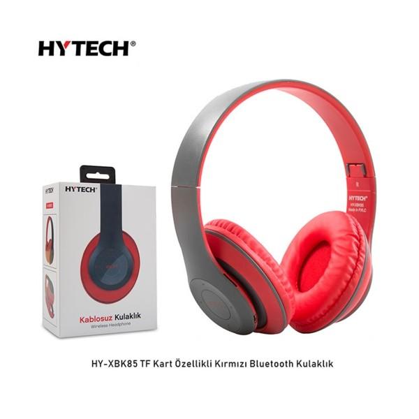 Hytech HY-XBK85  Kırmızı Bluetooth Kulaklık