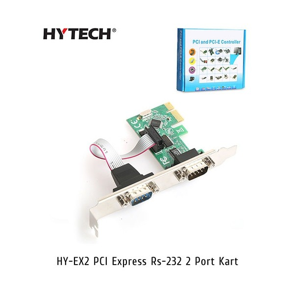 Hytech HY-EX2 PCI-Express Rs232 Seri 2 Port Kart