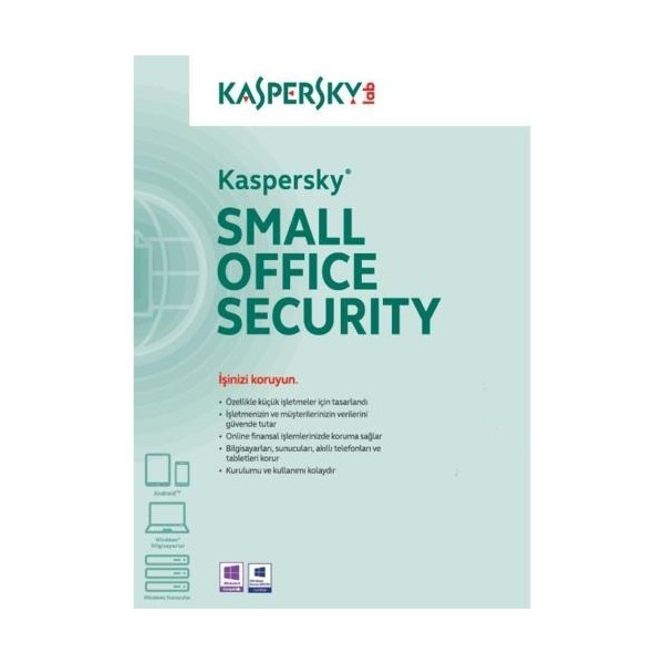Kaspersky Small Office Sec. 1+10 Dvd Kutu 3 YIL