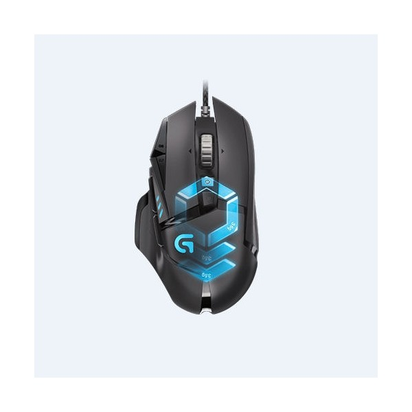 Logitech G502 Spectrum Gaming Mouse USB 910-004618