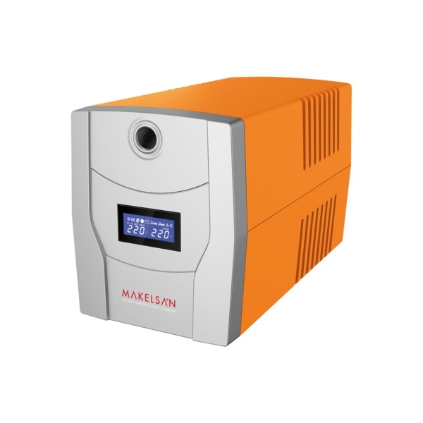 MAKELSAN LION 1500VA LCD/USB (2x 9AH)  5-10dk