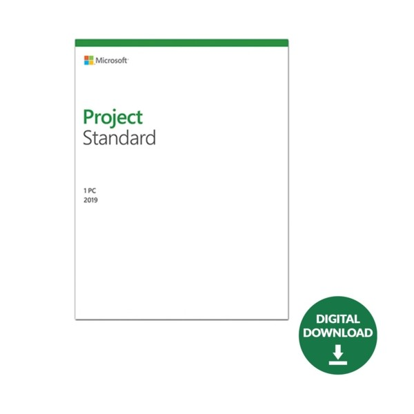 MS Project Standart 2019 ESD Lisans 076-05785