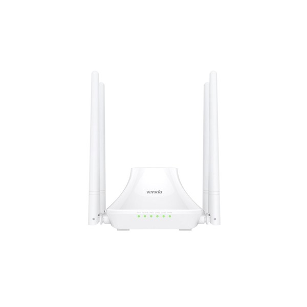 Tenda F6 4 Port WiFi-N 300Mbps 4 Anten Router