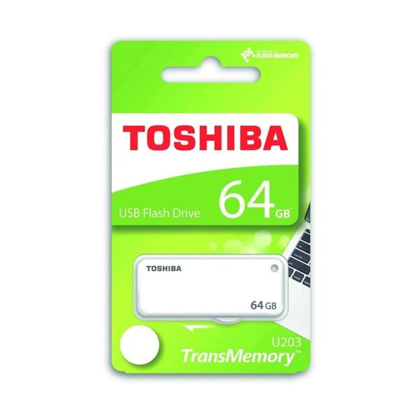 Toshiba Yamabiko 64GB USB2.0 THN-U203W0640E4 Beyaz