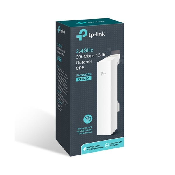 TP-Link CPE220 Wi-Fi 300Mbps Outdoor Access Point