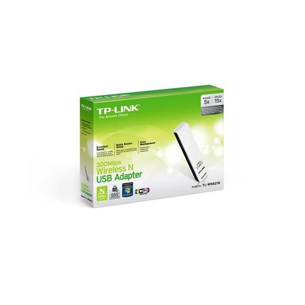 TP-Link TL-WN821N 300Mbps 11N Wi-Fi USB Adaptör