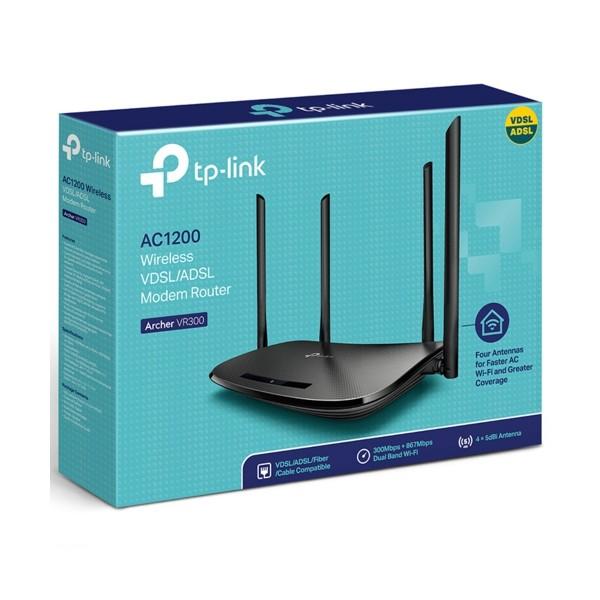 TP-Link Archer-VR300 AC1200 VDSL/ADSL Modem Router