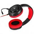 Corsair HS35 Stereo Kırmızı CA-9011198-EU Ayrılabilir Mikrofonlu Kablolu Gaming Kulaklık 3